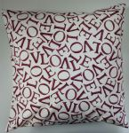 "Cushion Cover in Emma Bridgewater Love Plum 14"" 16"" 18"" 20"""